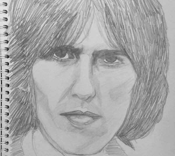 George Harrison by Uribaba